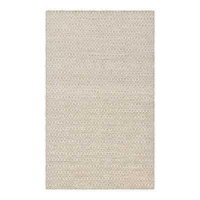 Chatham Contemporary Brown 5 ft. x 8 ft. Area Rug