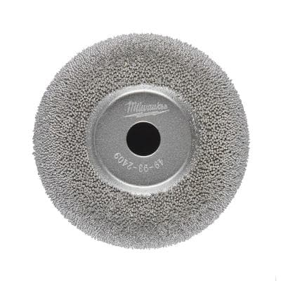 2-1/2 in. Flared Contour Low Speed Tire Buffing Wheel