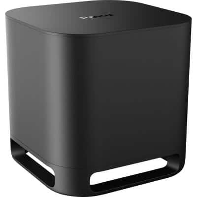 Wireless Subwoofer for Roku TV Surround Sound System in Black