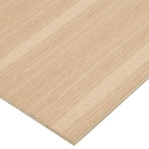 1/2 in. x 2 ft. x 4 ft. PureBond White Oak Plywood Project Panel (Free Custom Cut Available)