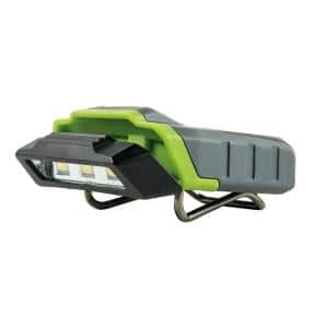 100 Lumens Cap-Mounting LED Head Lamp AAA Batteries (Included), 2 Modes Flashlight 8-Hour Run Time, Water/Dust Resistant