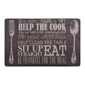 Kitchen Etiquette 20 in. x 32 in. Anti-Fatigue Gelness Kitchen Mat