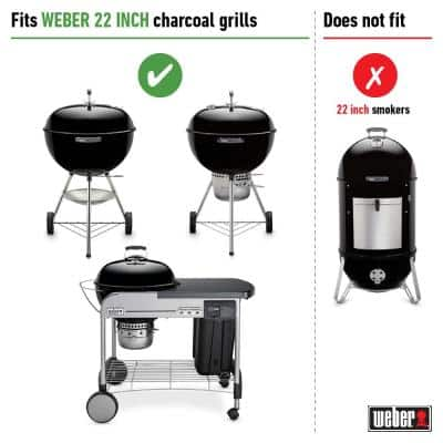 Replacement Charcoal Grate for 22-1/2 in. One-Touch, Master Touch, Bar-B-Kettle, & Performer Charcoal Grill