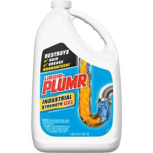 128 oz. Industrial Strength Gel Drain Cleaner and Drain Unclogger