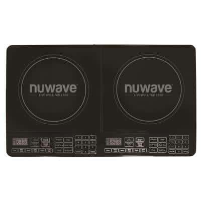 25 in. Double Precision Induction Cooktop in Black