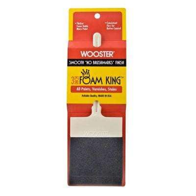 3 in. Foam King Foam Brush