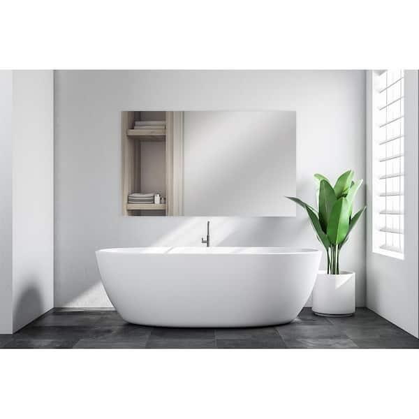 Glacier Bay 36 In W X 60 H, Bathroom Mirror 40 X 60