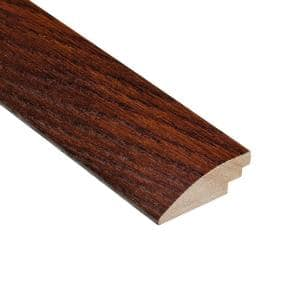 Oak Toast 3/8 in. Thick x 2 in. Wide x 78 in. Length Hard Surface Reducer Molding