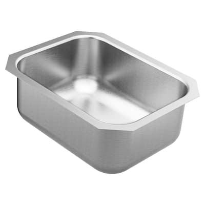 1800 Series Stainless Steel 16 in. Single Bowl Undermount Kitchen Sink