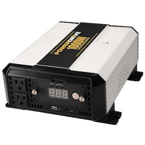 PowerDrive's 1000-Watt Pure Sine Wave Power Inverter Provides Clean Continuous Power for Sensitive Electronics