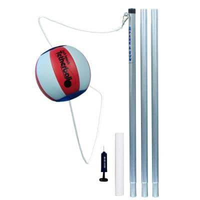 Portable Backyard Classic Tetherball Play Set with Accessories