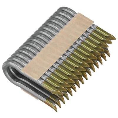 1.75 in. x 9-Gauge Galvanized Barbed Paper Tape Fencing Staples (960 per Box)