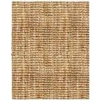 Andes Tan 3 ft. x 8 ft. Jute Area Rug