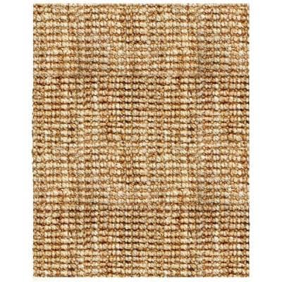 Andes Tan 8 ft. x 10 ft. Jute Area Rug