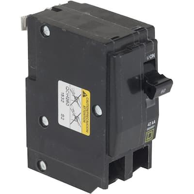 QO 60 Amp 42kA 2-Pole Plug-In Circuit Breaker