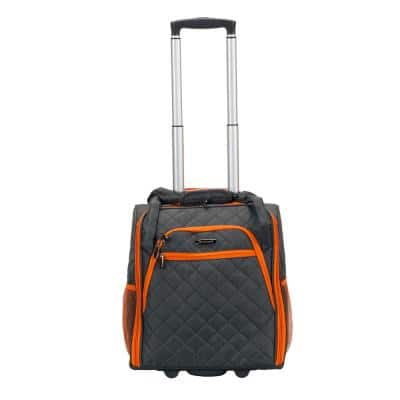 Charcoal Melrose Wheeled Underseat Carry-On