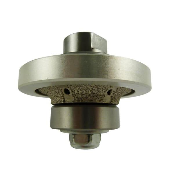1 4 In Radius Diamond Hand Profiler Router Bit For Granite Concrete Vpb0014 The Home Depot