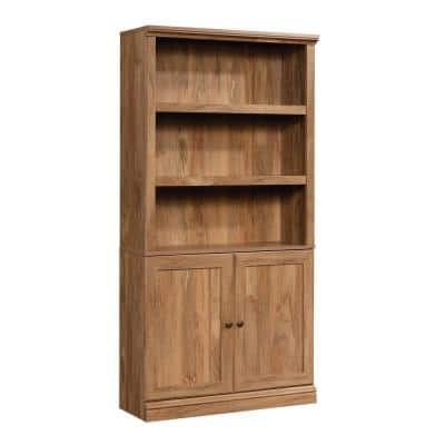 Sindoori Mango 5-Shelf Bookcase with Doors