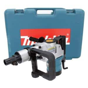 11 Amp 2 in. Corded Spline Shank Concrete/Masonry Rotary Hammer Drill with Side Handle D-Handle and Hard Case