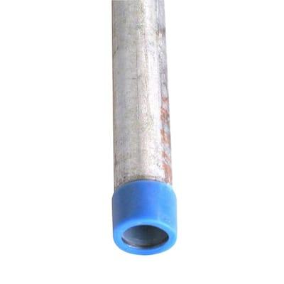 1/2 in. x 18 in. Galvanized Steel Schedule 40 Cut Pipe