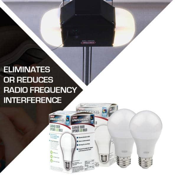 Genie 120 Watt Equivalence Universal, Garage Stop Light Home Depot