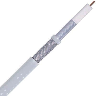 Digiwave 1000 ft. White RG6 Coaxial Cable with UL Rated