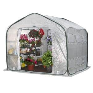 FarmHouse 9 ft. x 9 ft. Pop-Up Greenhouse