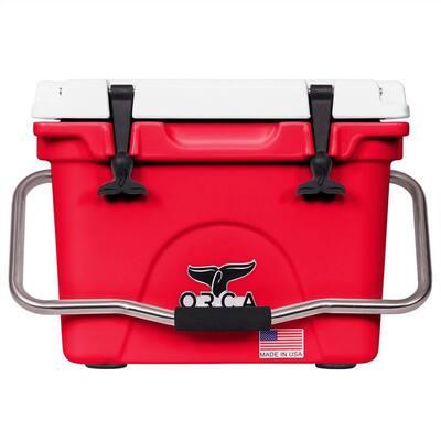 U of Houston 20 Qt. Red/White Cooler