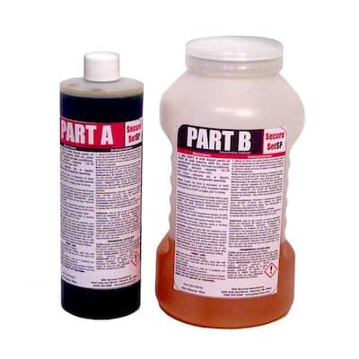 32 oz. Concrete Alternative-High Density Polyurethane Post Setting Foam White 1 Post Kit