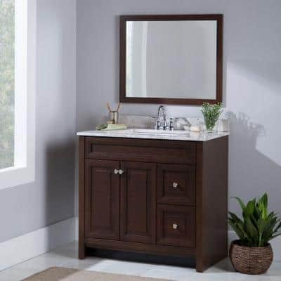 36 Inch Vanities Bathroom Vanities Without Tops Bathroom Vanities The Home Depot