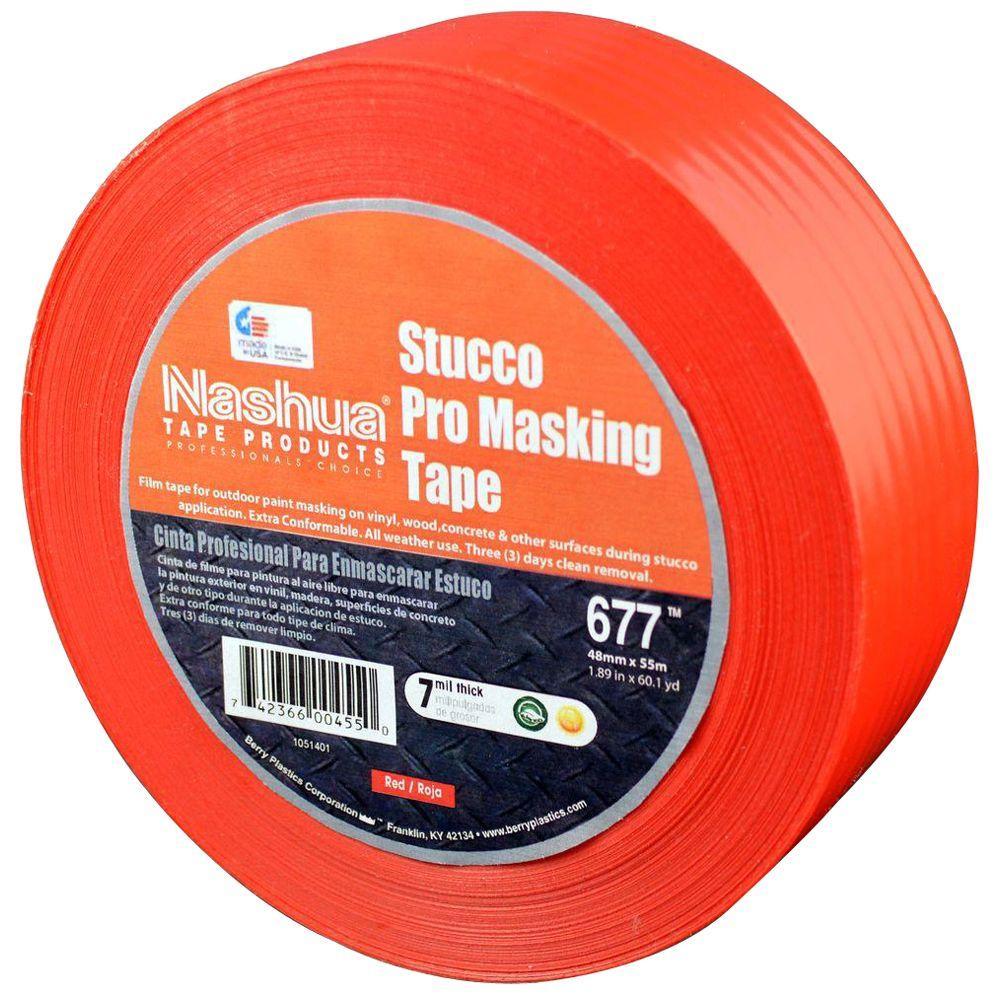 1.89 in. x 60.1 yds. 677 Stucco Pro Film Tape