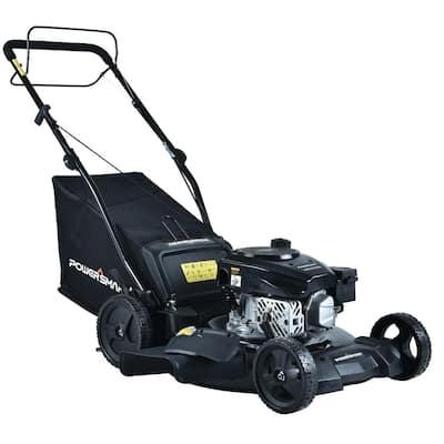 21 in. 3-In-1 170 cc Gas Self Propelled Lawn Mower