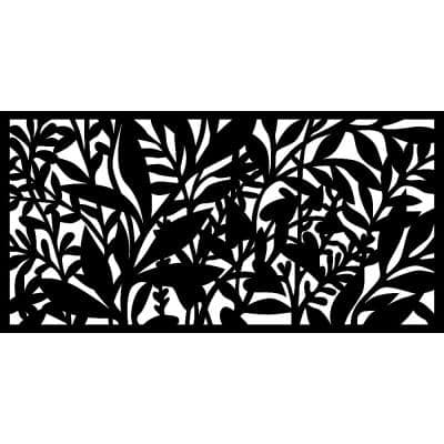 0.3 in. x 45.7 in. x 1.9 ft. Hinterland Wall Art & Fence Panel
