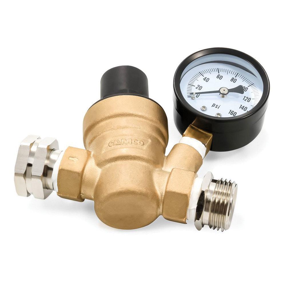 Adjustable Water Pressure Regulator - Lead-Free Bilingual Brass