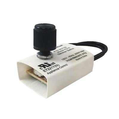 200-Watt Full Range Replacement Dimmer, Black