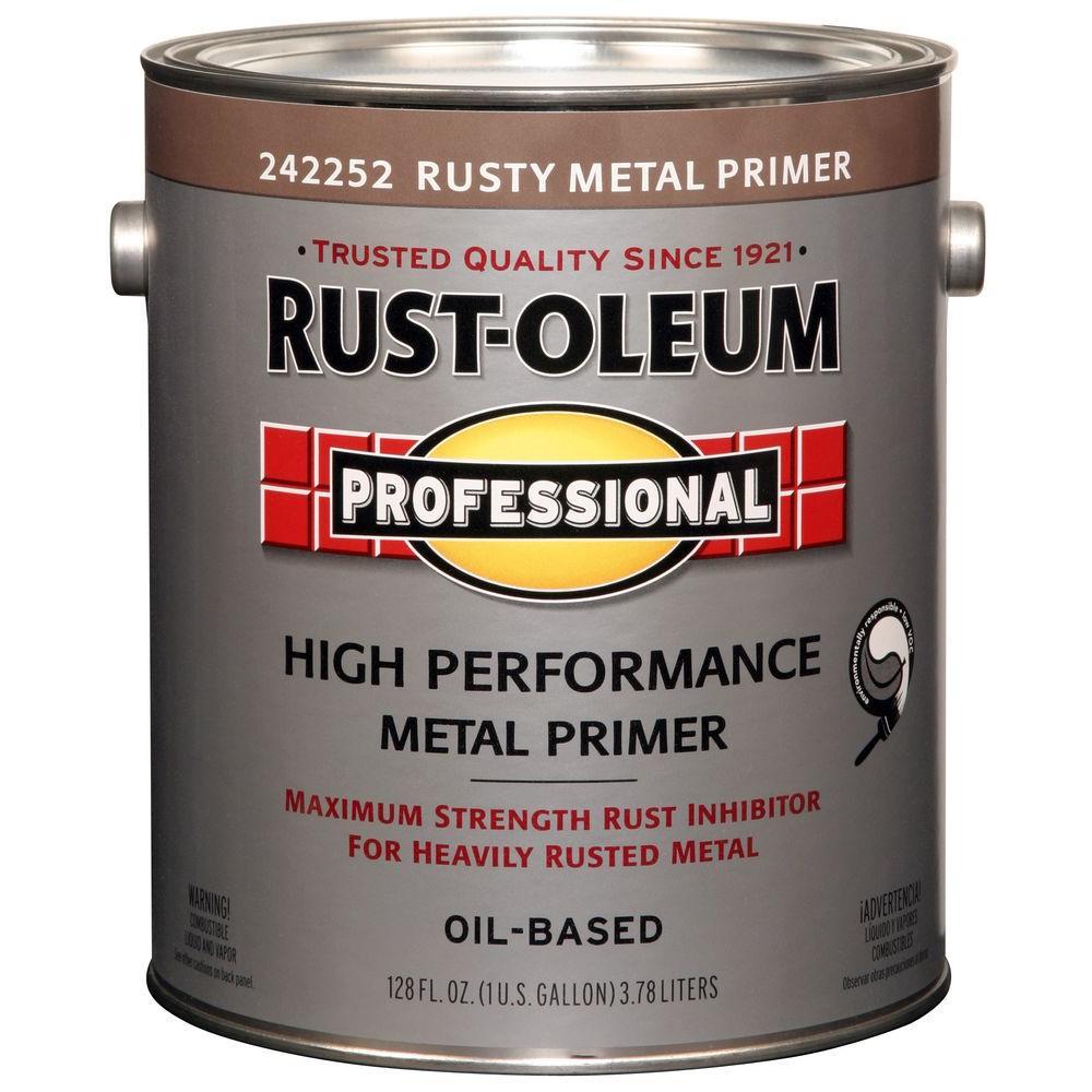 1 gal. Red Flat Rust Preventive Primer (2-Pack)