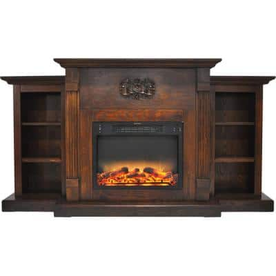 Freestanding Electric Fireplaces Electric Fireplaces The Home Depot