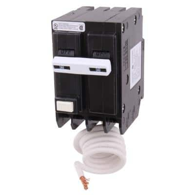 50 Amp Double Pole Ground Fault Breaker with Self-Test