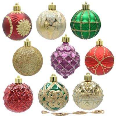 Warm Tidings 60 mm Assorted Ornament Set (101-Count)
