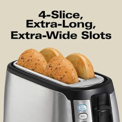 Ensemble 4-Slice Stainless Steel Long Slot Toaster