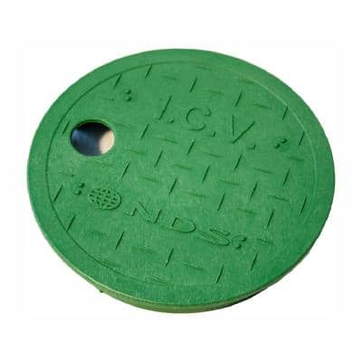 6 in. Round Valve Box Overlapping ICV Cover