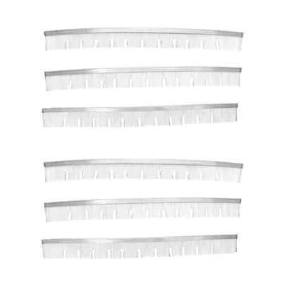 Hayward Select Pool Vacuum Cleaner Head Brushes SP1068, SP1069 (6-Pack)