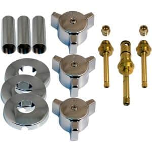 Tub and Shower Rebuild Kit for Indiana 3-Handle Faucets