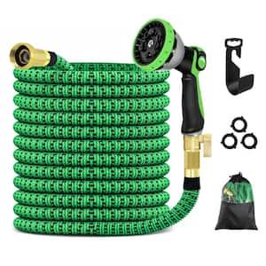 100 ft. Expandable Garden Hose, Flexible Water Hose with 10 Function Nozzle Garden Water Hose
