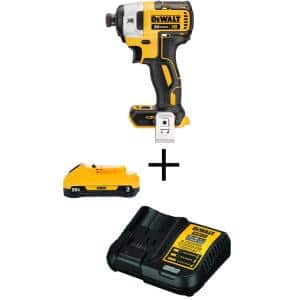 20-Volt MAX XR Cordless Brushless 3-Speed 1/4 in. Impact Driver with (1) 20-Volt 3.0Ah Battery & Charger
