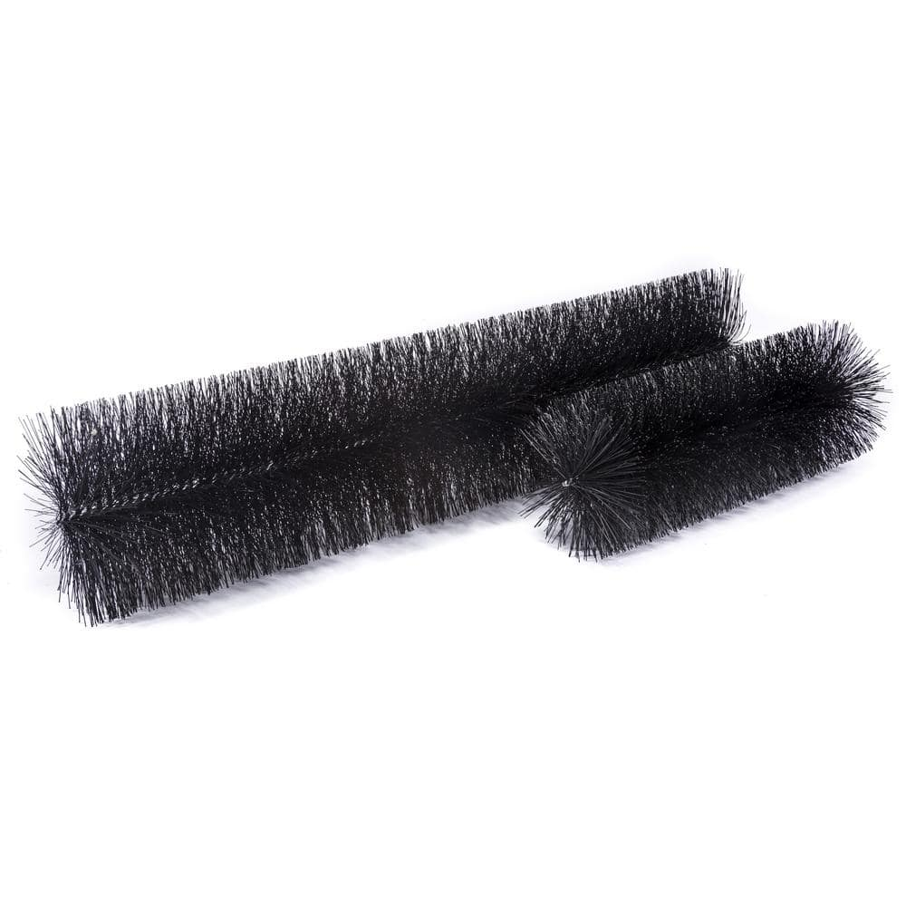 Gutterbrush Industrial 8 In 36 Ft Pack Max Flow Filter Brush Gutter Guard 8in 36ft The Home Depot
