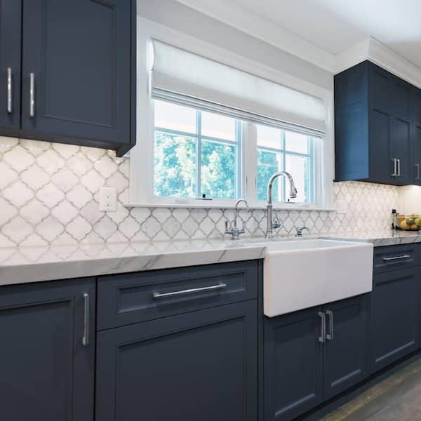 Nuvo 2 Qt Oxford Blue Cabinet Paint, Paint Kitchen Cabinets Dark Blue