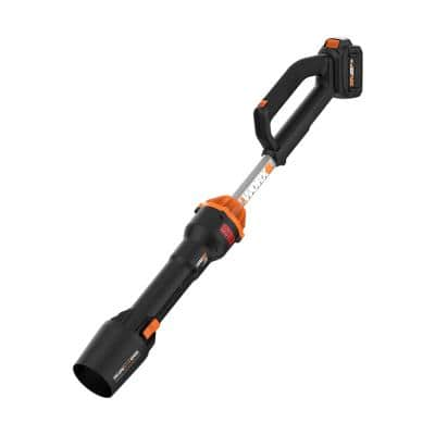 Power Share 20-Volt Leafjet 125MPH 410CFM Cordless Battery Leaf Blower, Brushless Motor (4 Ah Battery/Charger Included)