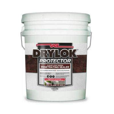 Protector 5 gal. Clear Low-Sheen Penetrating Concrete Sealer with SaltLok