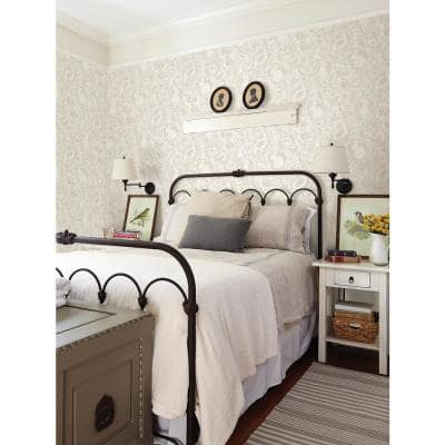 Cream Terrene Peel and Stick Wallpaper